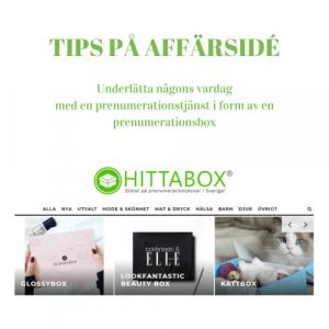 Tips på affärsidé - prenumerationsboxar