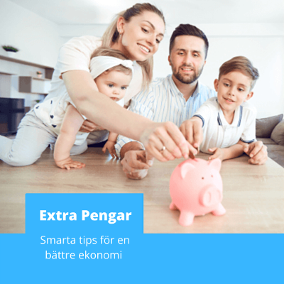 Extra pengar - smarta tips för en bättre ekonomi
